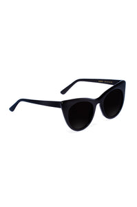 Black Doshow Cat-Eye Sunglasses