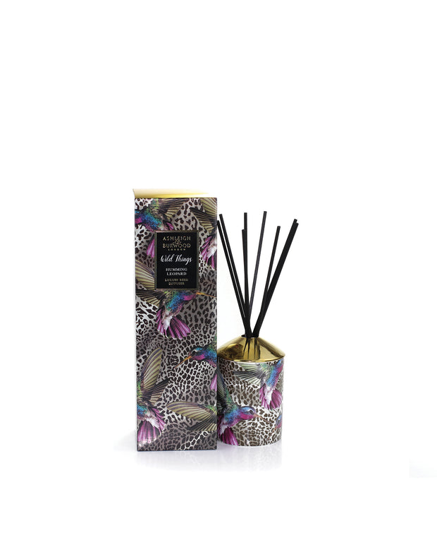 ASHLEIGH & BURWOOD | BLAIZ | Black Raspberry Red Berry Apricot Musk Reed Diffuser Home Fragrance Homeware Gift Home Decor