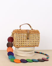 Load image into Gallery viewer, Cathy Mini Wicker Shoulder Bag