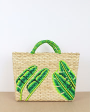 CAJU LONDON | BLAIZ | Large Banana Leaf Straw Bag