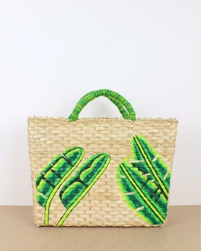 Large Banana Leaf Straw Bag