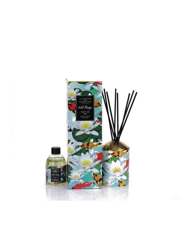 ASHLEIGH & BURWOOD | BLAIZ | Moroccan Spice Jasmine Lily Lemon Orange Narcissus Koi Reed Diffuser Home Fragrance Homeware Gift