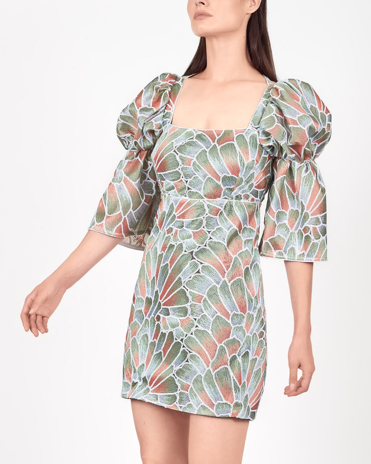 Lagos Petal Mini Dress