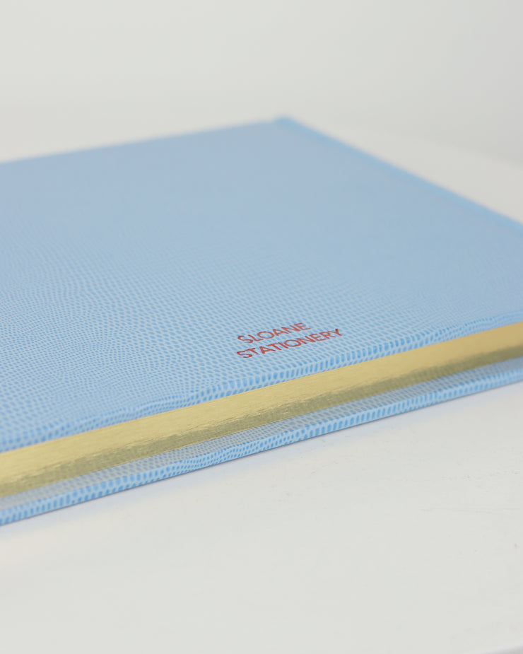 SLOANE STATIONERY | BLAIZ | Powder Blue Love Guest Book