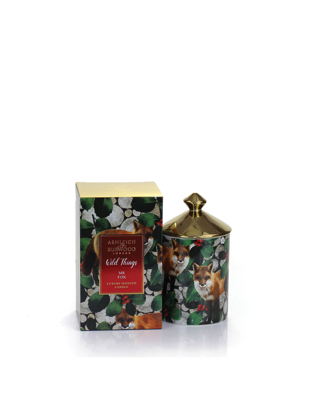ASHLEIGH & BURWOOD | BLAIZ | Christmas Spice Fox Sweet Vanilla Orange Spices Scented Candle Home Fragrance Homeware Gift Home Decor