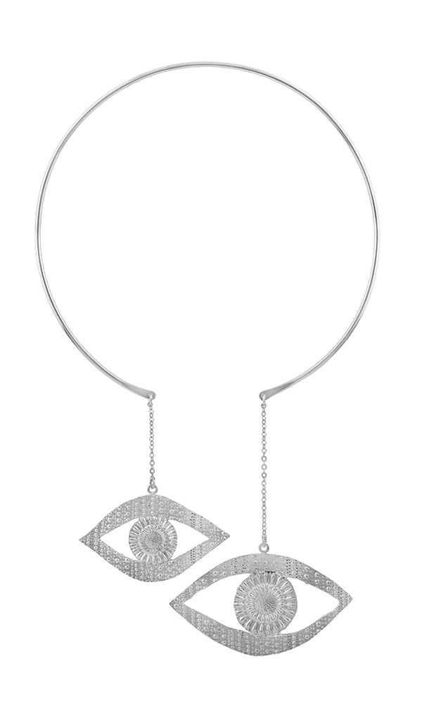 Silver Eye Sea You Choker