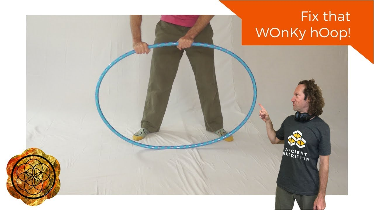 How to Fix a Wonky/Crooked/Wobbly/Non-circular Hoop