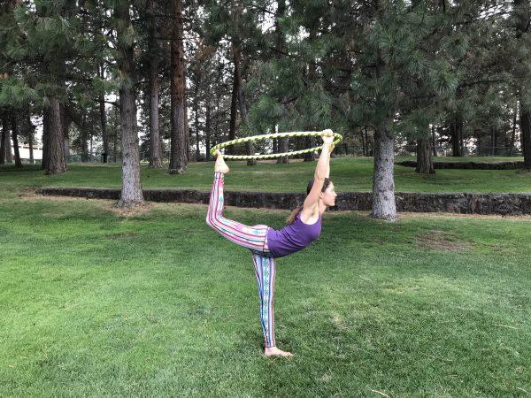 Yoga and Hula Hoop Fusion – A Workout