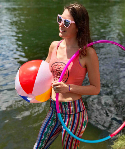 All of the toys: Beach Balls, Hula Hoops, Swim Gear, Friends