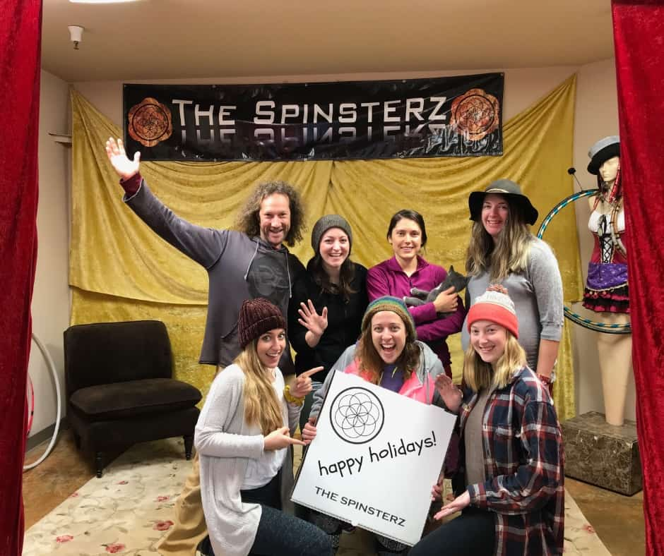 The Spinsterz Hoop Building Elves