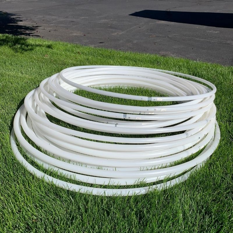 Natural HDPE and Polypro Sale Hoops