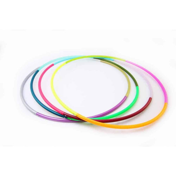 The Spinsterz - 4 Section Multi Colored Hoop
