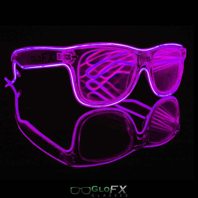 The Spinsterz - Customizable Luminescence Diffraction Glasses