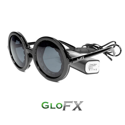 The Spinsterz - GloFX Pixel Pro LED Glasses