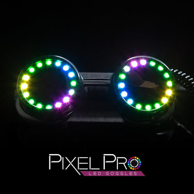 The Spinsterz - GloFX Pixel Pro LED Goggles
