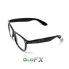 The Spinsterz - GloFX Heart Effect Diffraction Glasses – Black