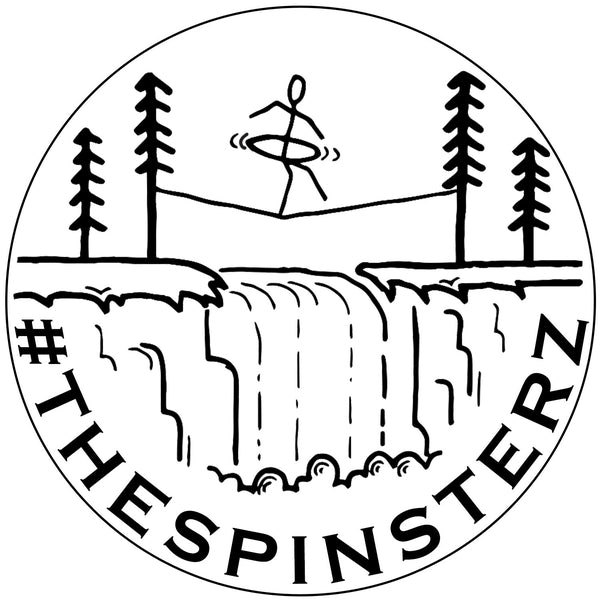 The Spinsterz - Slackline Hooper Sticker