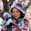 Furry Husky Festival Fashion Hood