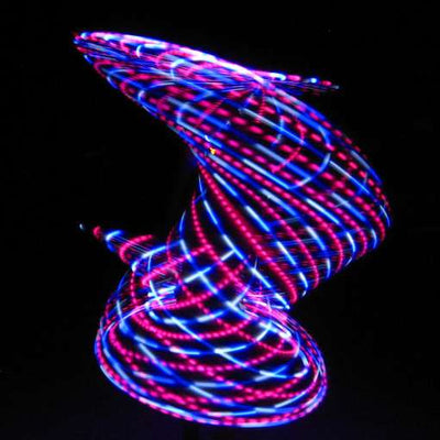 The Spinsterz - Cupcake LED Hoop