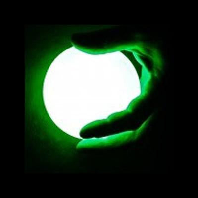 LED contact juggling balls