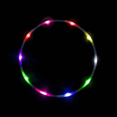 The Spinsterz - Rainbow Light Up Hula Hoop