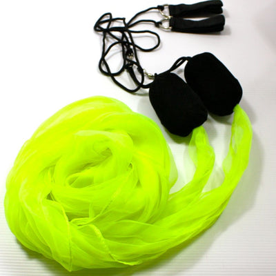 Spinsterz Flag Poi - Lime