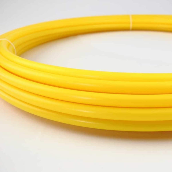 The Spinsterz - Banana Slug Polypro Hula Hoop Tubing