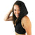 Soft Black - Hooded Halter Top