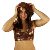 Bronze - Hooded Halter Top