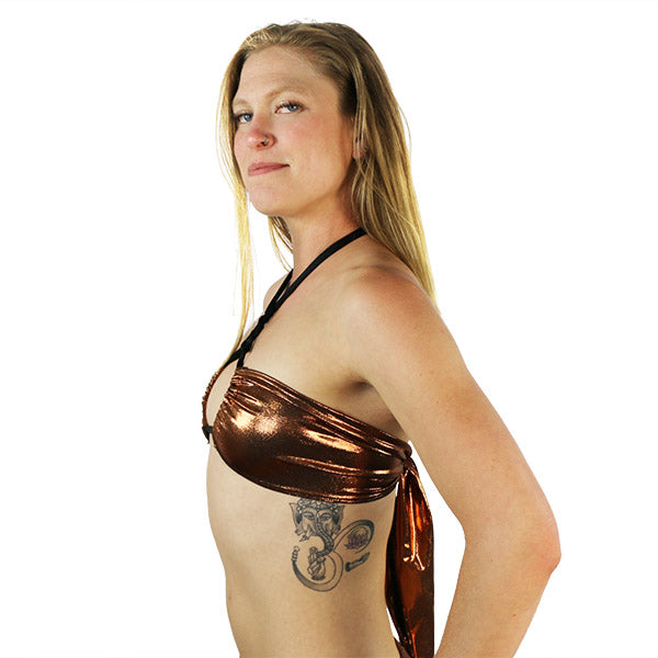 Bronze - Hot Mama Wrap Top