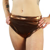 Bronze - High Waisted Thong