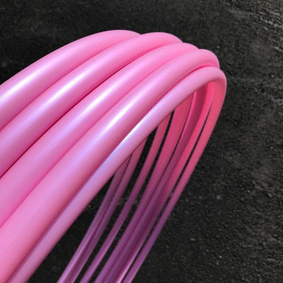 Bubble Gum Polypro Hoop Tubing