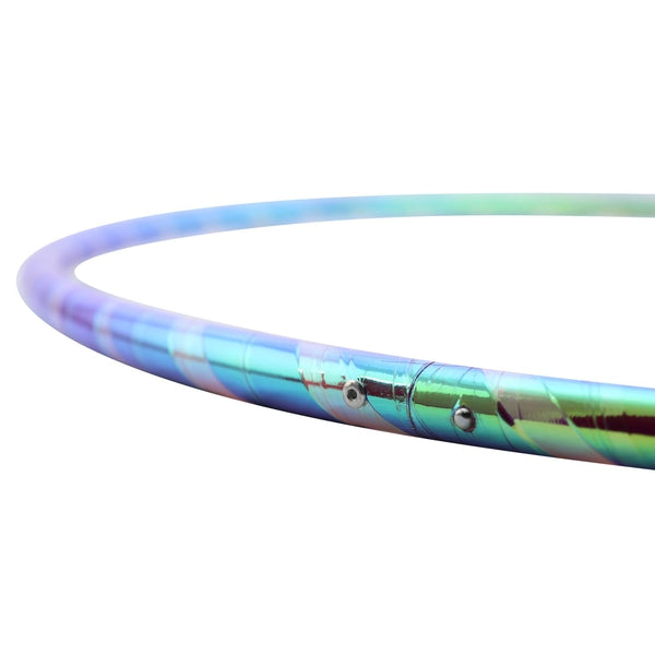 Cosmic Lollipop Reflective Hoop-The Spinsterz