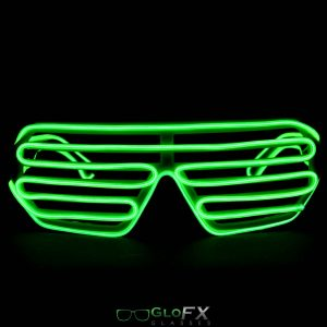 The Spinsterz - Luminescence Shutter Frame Glasses