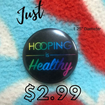 Hooping is Healthy Button