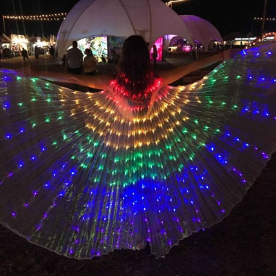 LED Light Up Isis Wings