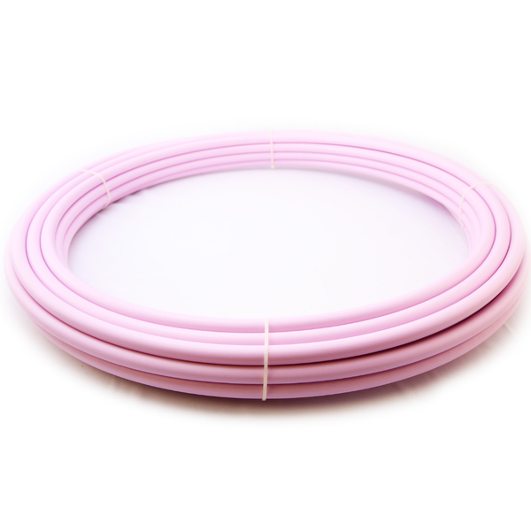 Peony Pink Polypro Hula Hoop Tubing-The Spinsterz