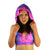 Pink Nebula - Hooded Halter Top