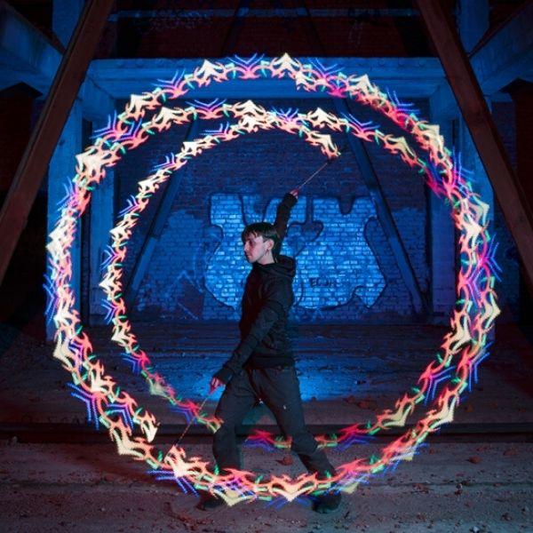 NeoPoi22 LED Smart Pixel Poi