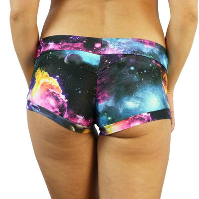 Rainbow Galaxy - Dance Shorts