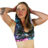 Rainbow Galaxy - Hooded Halter Top