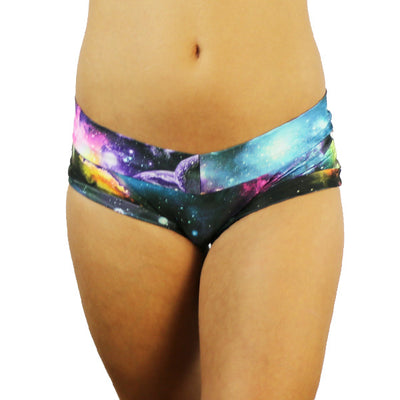 Rainbow Galaxy - Pole Shorts