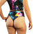 Rainbow Galaxy - High Waisted Thong