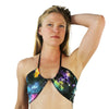 Rainbow Galaxy - Hot Mama Wrap Top