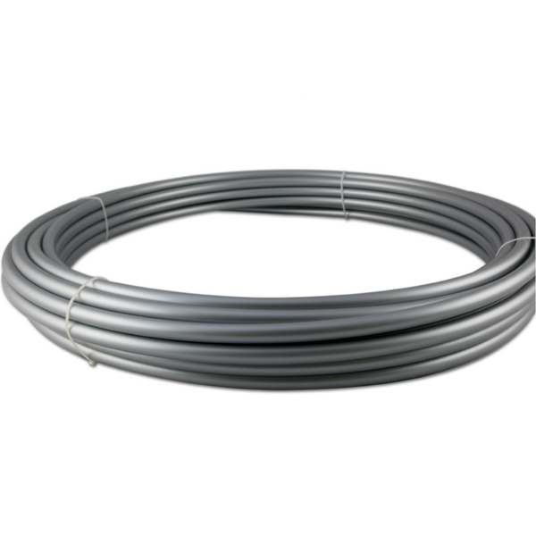 Silver Polypro Hula Hoop Tubing-The Spinsterz