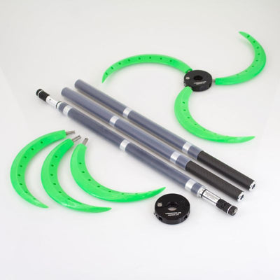 Collapsible Fusion Carbon Fiber Dragon Staff with Spiral Claws