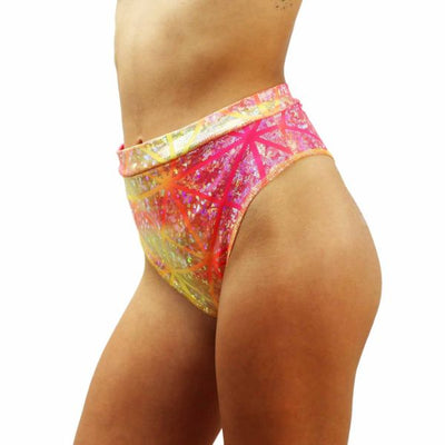 Star Burst - High Waisted Thong