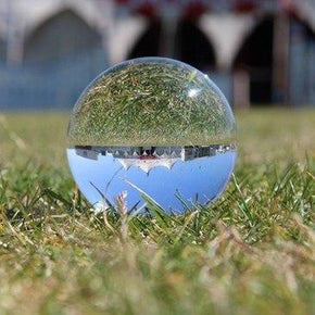 crystal clear contact juggling ball