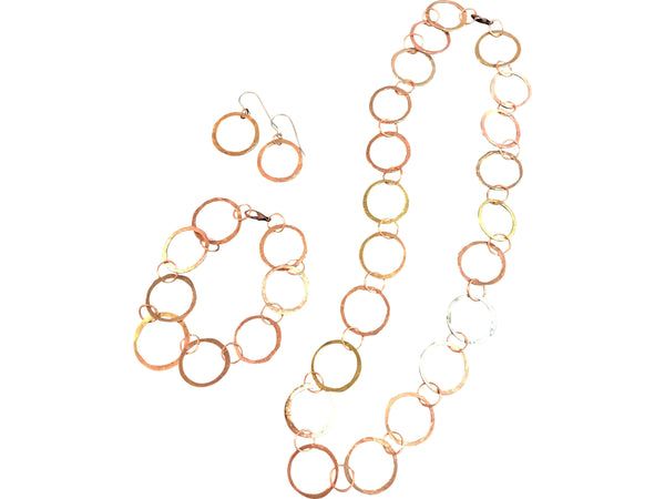 Mixed-Metal Circle 3-piece Set