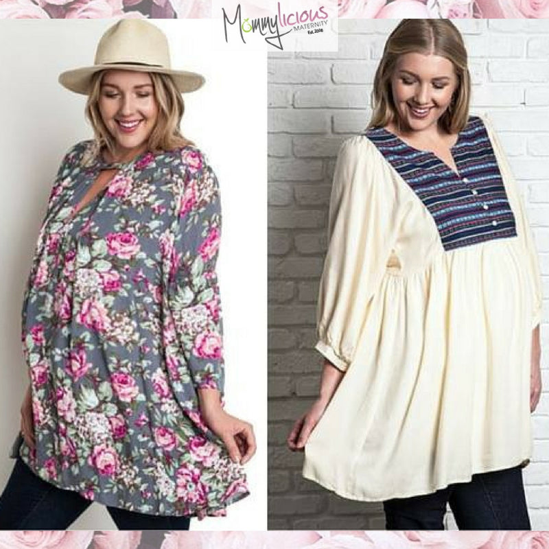 The Latest in Plus Size Maternity Clothes